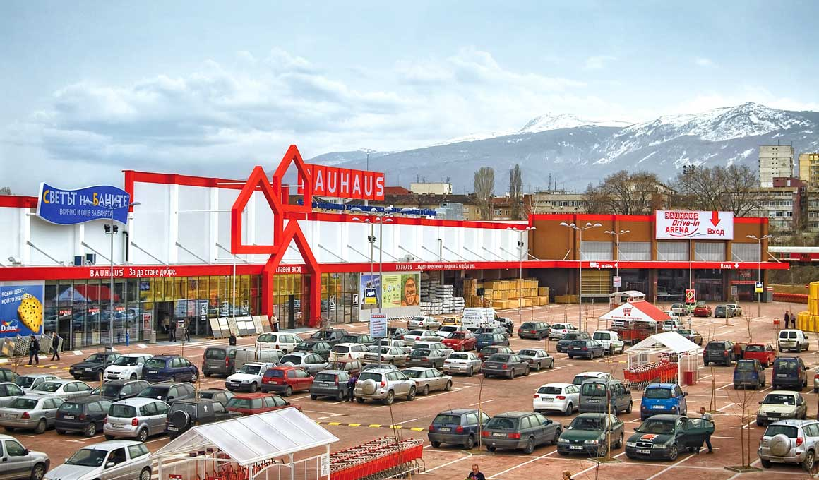 Bauhaus retail center