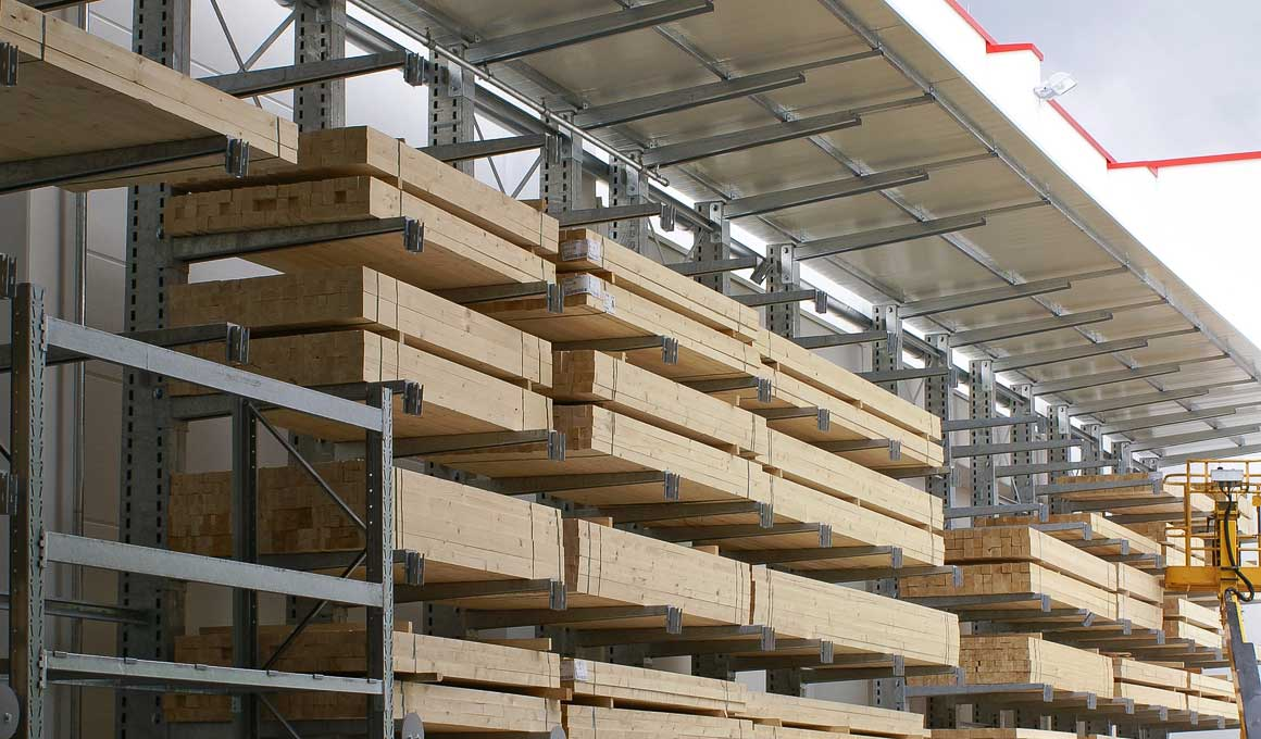 SF3 wood storage with roof