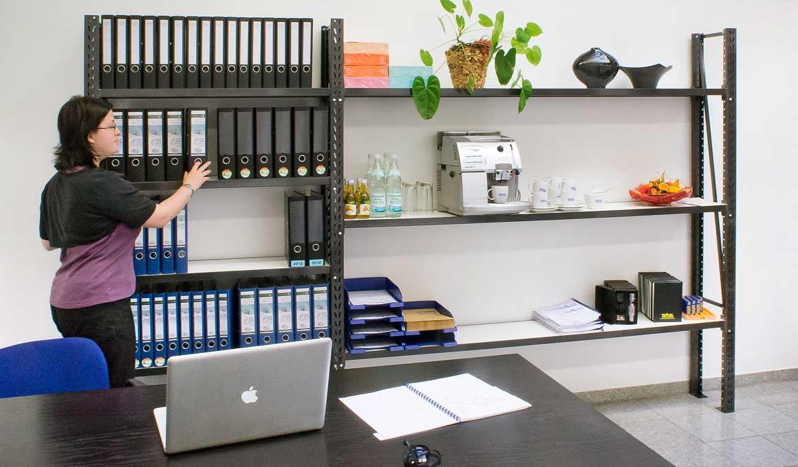 LEO office shelf