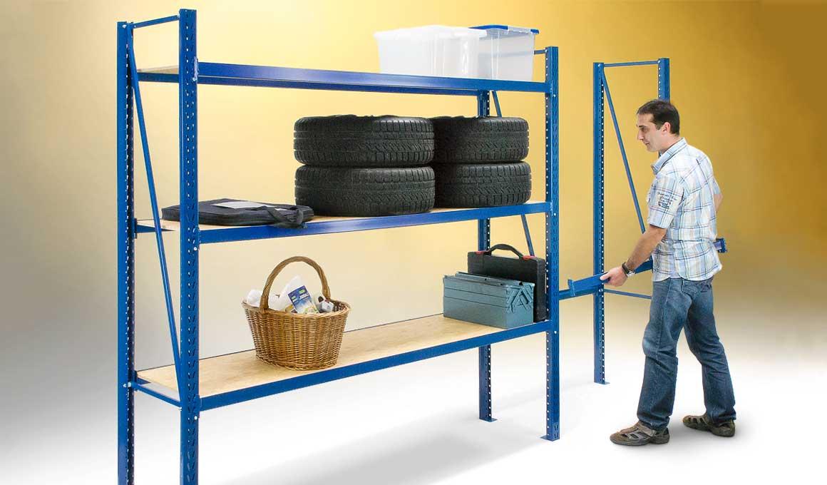 LEO storage shelf