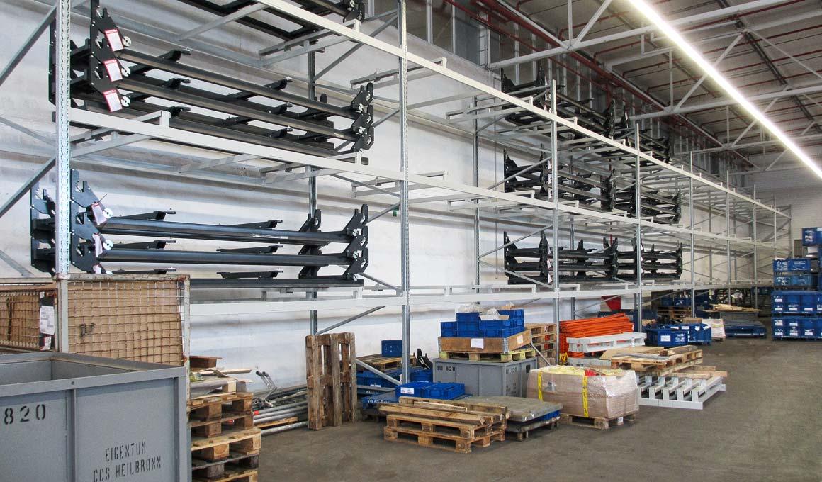 SL100 car bodies storage