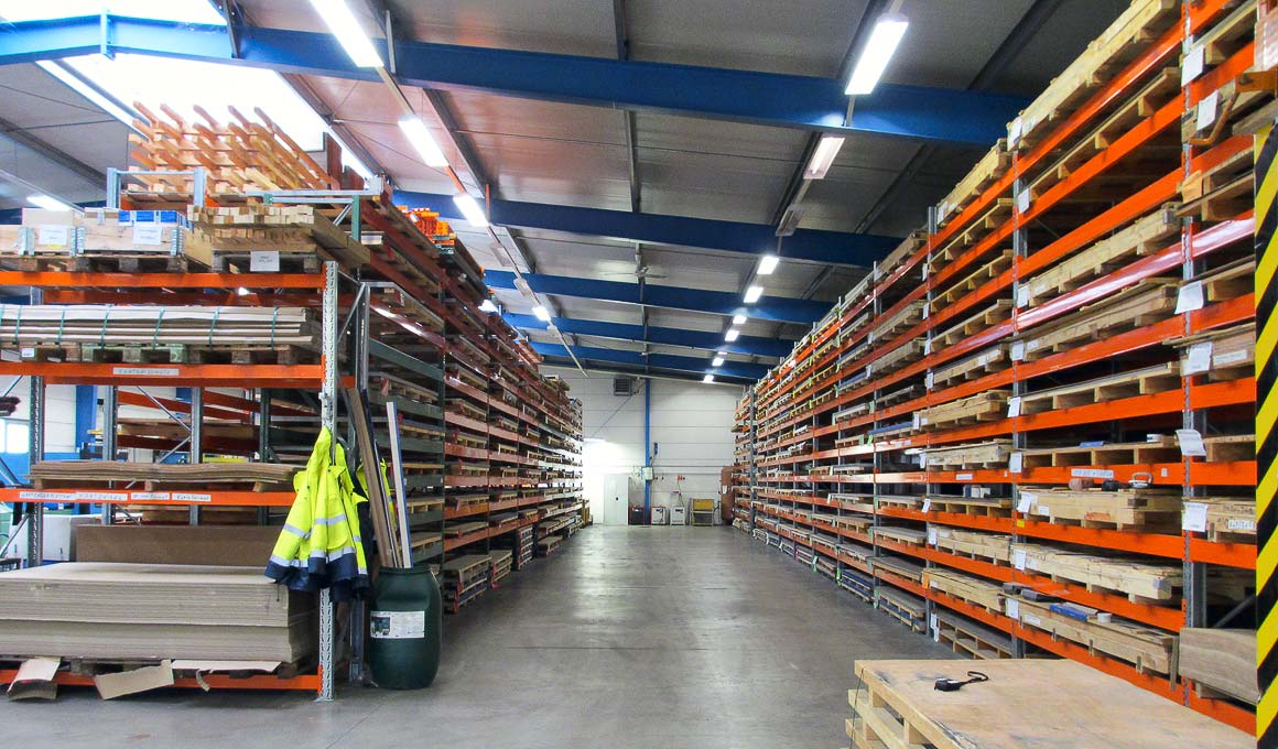 SL100 panel warehouse