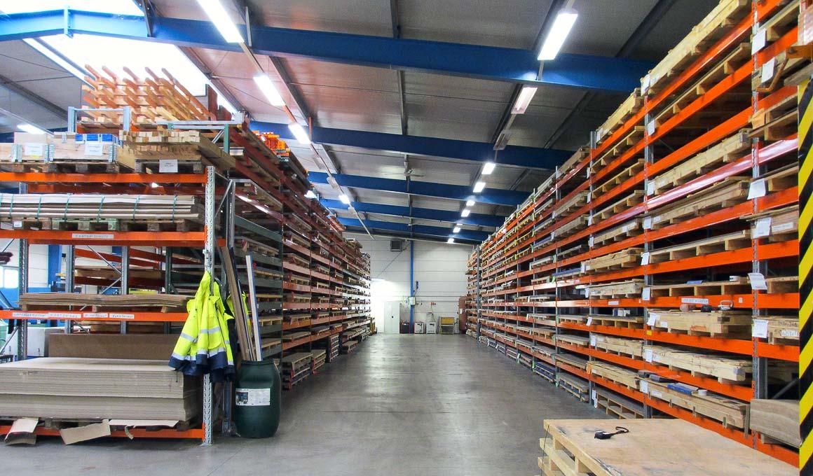 SL100 panel warehouse
