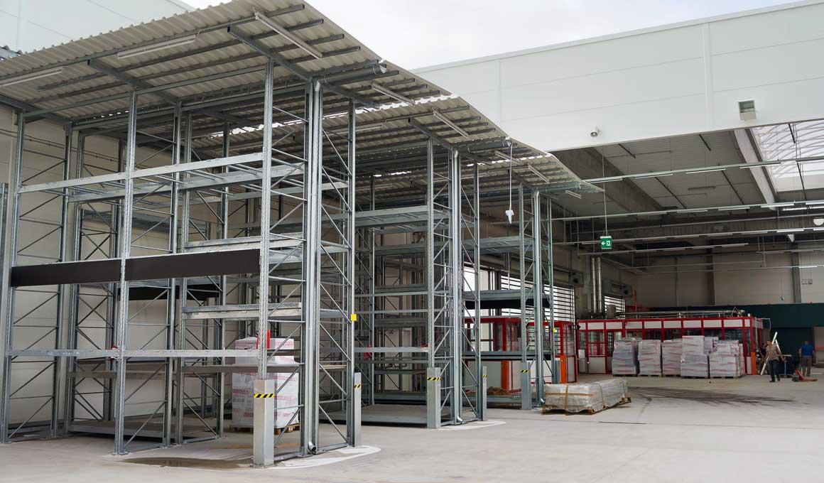 parallel SL100 outdoor shelves