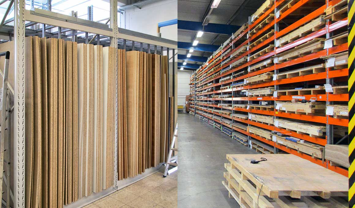 SL100 heavy duty panel storages