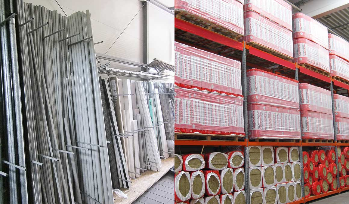 Industrial supply warehouse