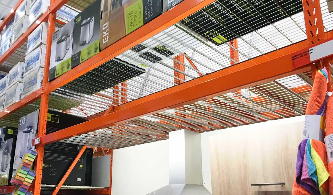 LPR grid shelves