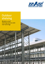 Brass outdoor shelving brochure