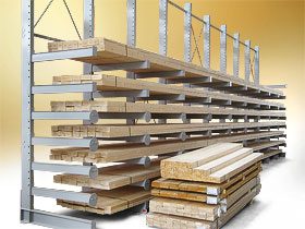 LEO cantilever rack