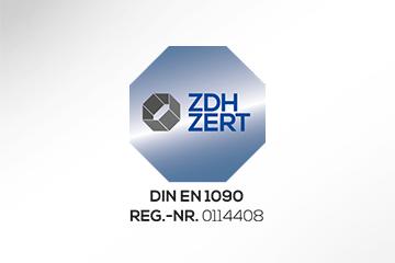 BRASS certificate DIN-EN 1090