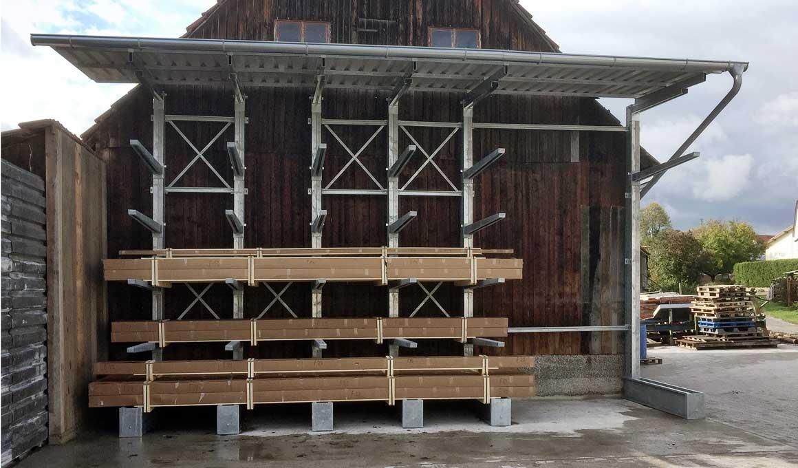 SF3-Außen-Holzlager