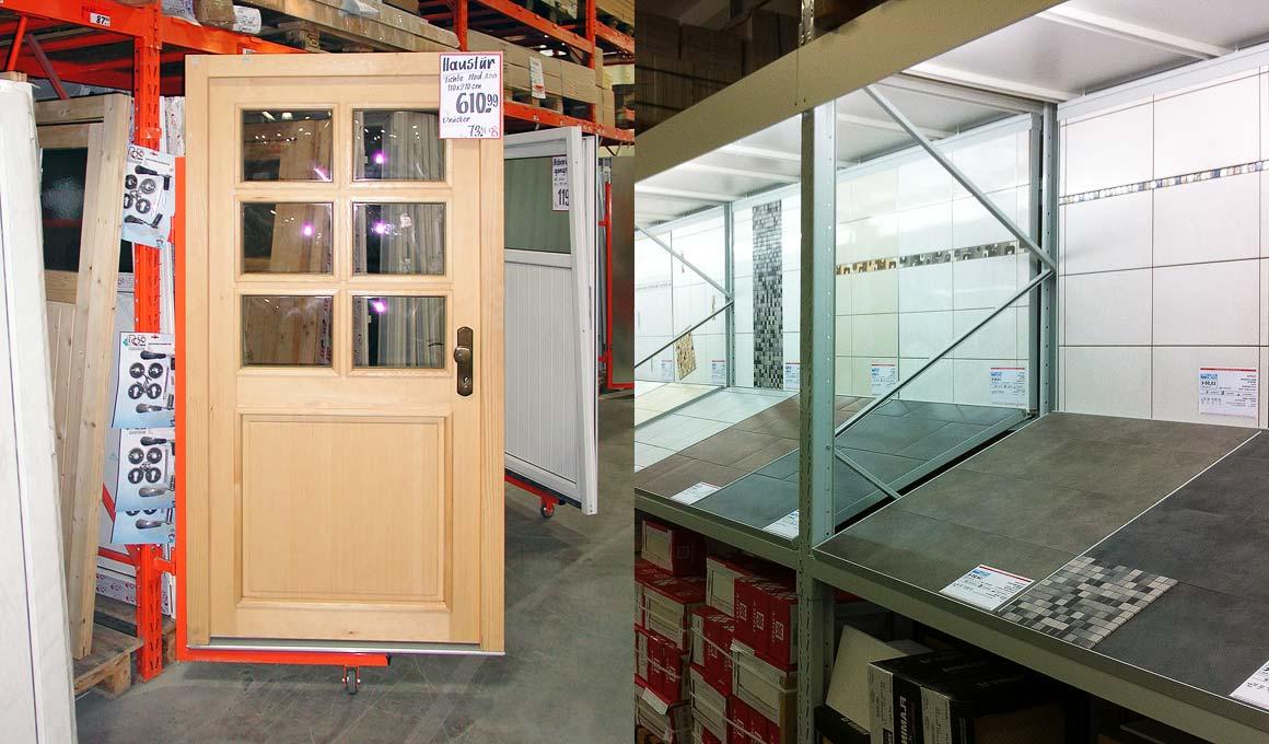 SL100-Regal Türen Fliesen